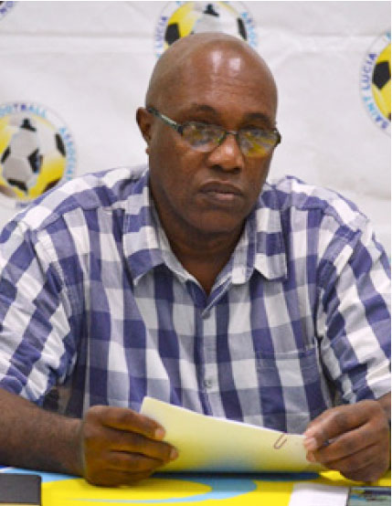 Image: SLFA General Secretary – Victor Reid (Photo: Anthony De Beauville)