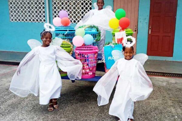 Image: (left) Abeni Joseph, (middle) Naleighna Bernadine, (right) Harmony Joseph.