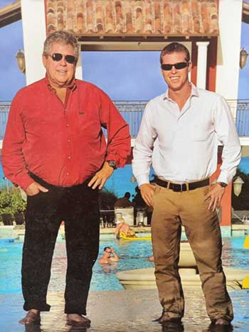 Image: Founding Father and groomed son in Saint Lucia in 2018. (PHOTO: businessfocusstlucia.com)