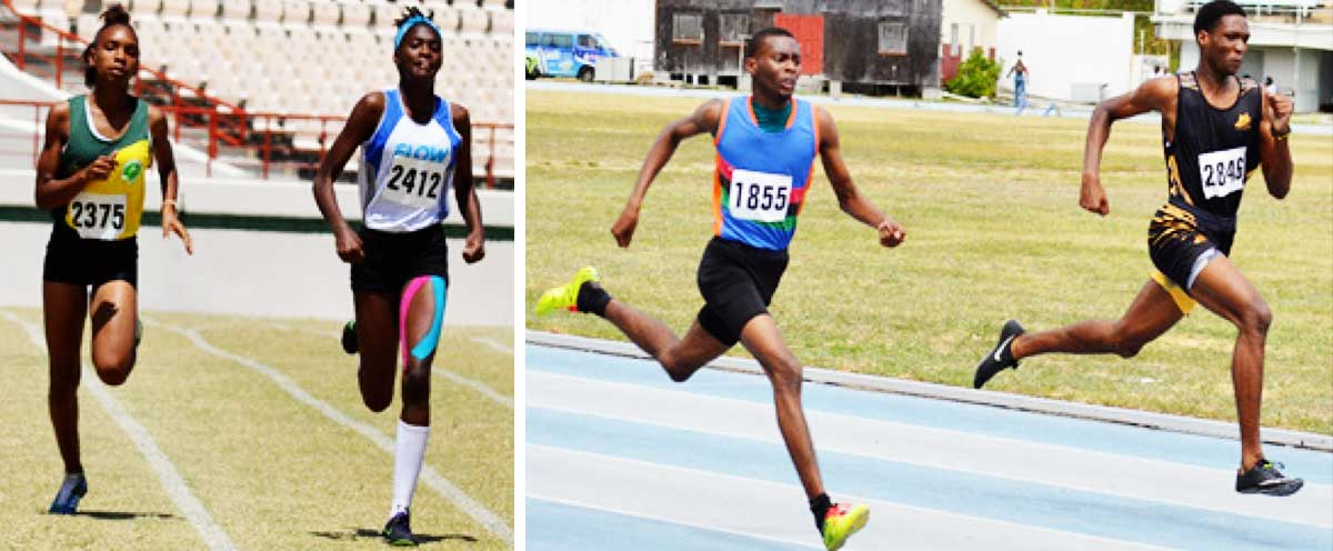 Image: Flashback 2020!! (L-R) Inter Secondary Schools Northern and Southern qualifiers. (PHOTO: Anthony De Beauville)