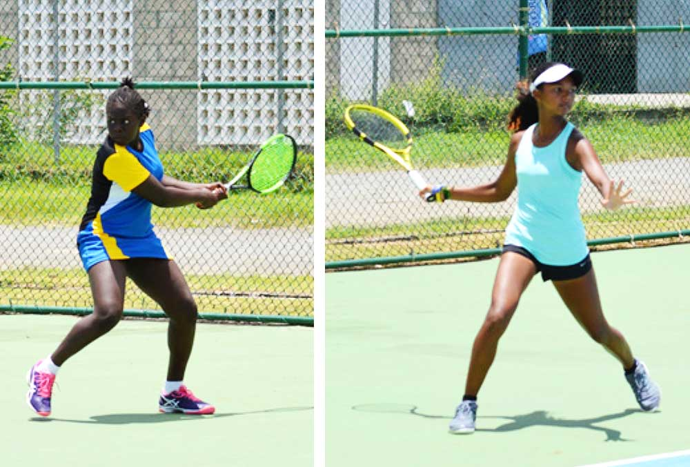 Image: (L-R) Saint Lucia, Iyana Paul COTECC No. 8; Trinidad and Tobago, Cameron Wong COTECC No.1. (Photo: Anthony De Beauville)