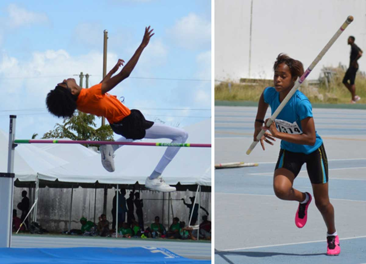 Image: Flashback 2020!! Local athletes competing at the National Juniors and Independence Games at the GOS. (Photo: Anthony De Beauville)