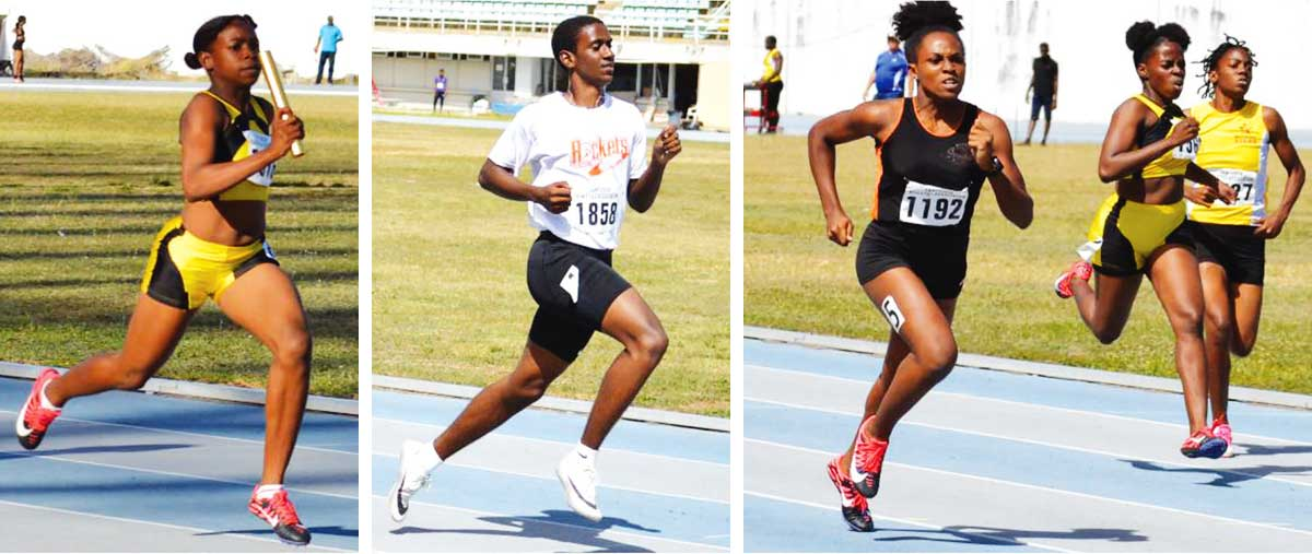 Image: Flashback 2020!! Local athletes in action at the GOS in anticipation of a representing Saint Lucia at the CARIFTA Games. (Photo: Anthony De Beauville)