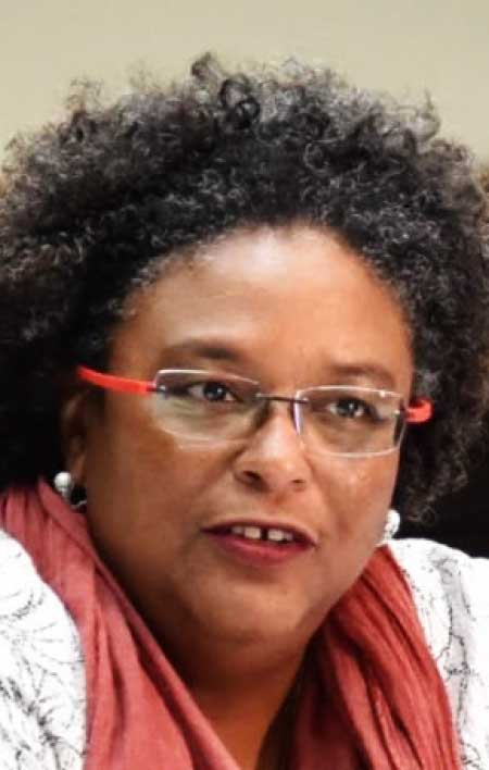 Image of Mia Mottley Prime Minister of Barbados