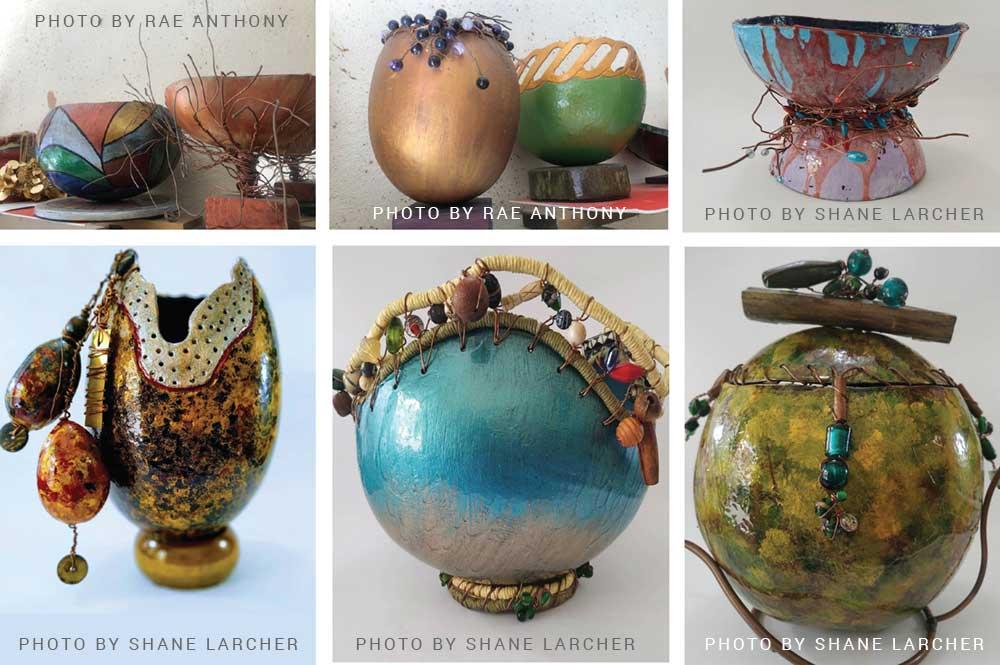 Image of some of Martial's unique designs