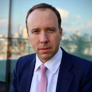 Image of Matt Hancoc, Secretary of State for Health