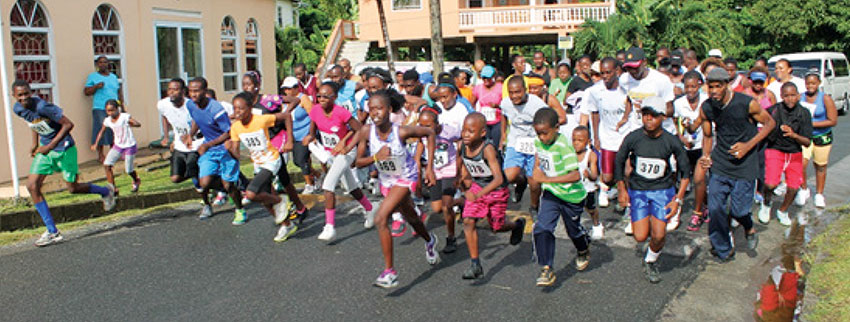 Image: Run for Jesus road race, La Feuille Pentecostal not counted out. (PHOTO: Anthony De Beauville)