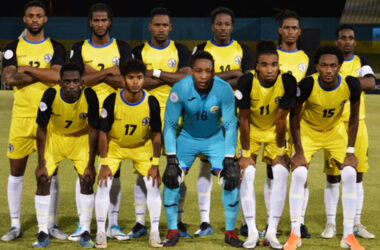 Image: Saint Lucia senior men's national football team 2019. (PHOTO: Anthony De Beauville)
