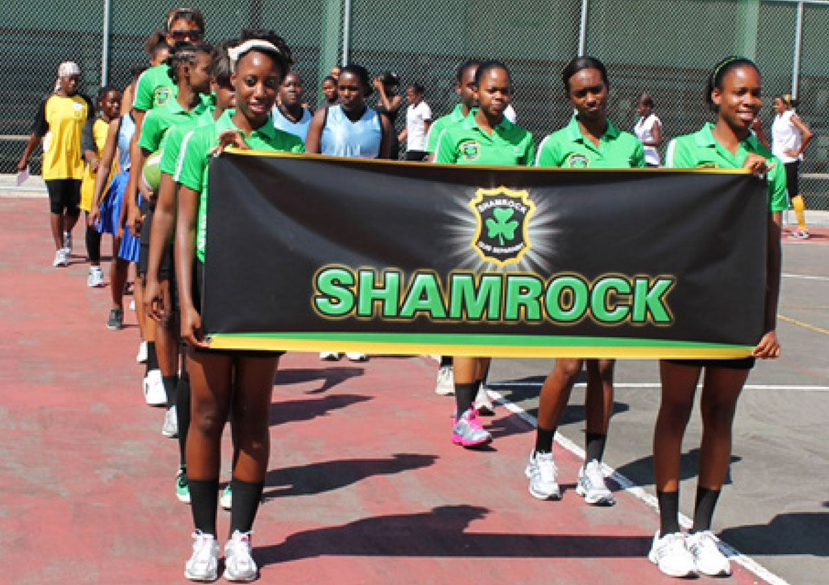 Image: Shamrock Netball Club strong as ever. (PHOTO: Anthony De Beauville)