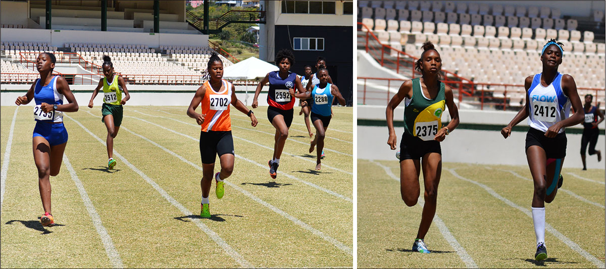 Image: Flashback 2020!! Inter schools northern zone qualifiers girls 200 metres at the DSCG. (PHOTO: Anthony De Beauville)
