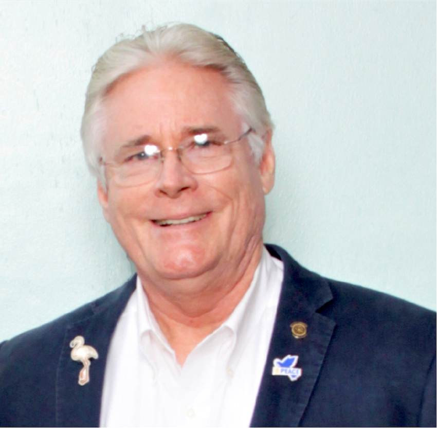 Image of Rotary District Governor, Lisle Chase