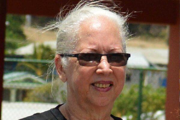 Image of former Saint Lucia National Netball Association president and player Paula Calderon(Photo: Anthony De Beauville)