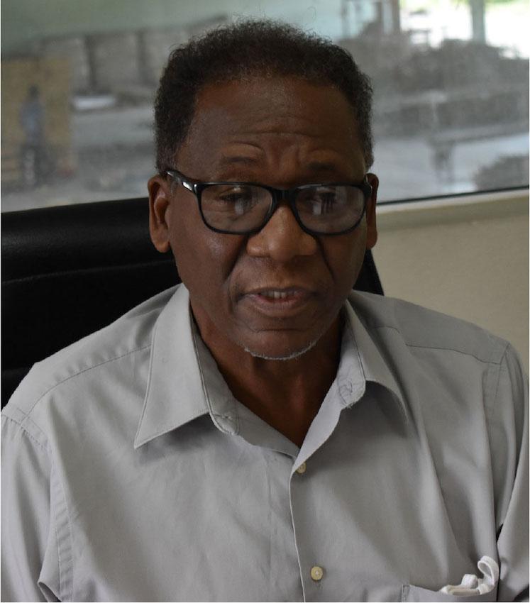 Image of NFTOSL Chairman Eustace Monrose