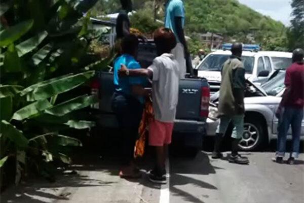 Image of accident scene