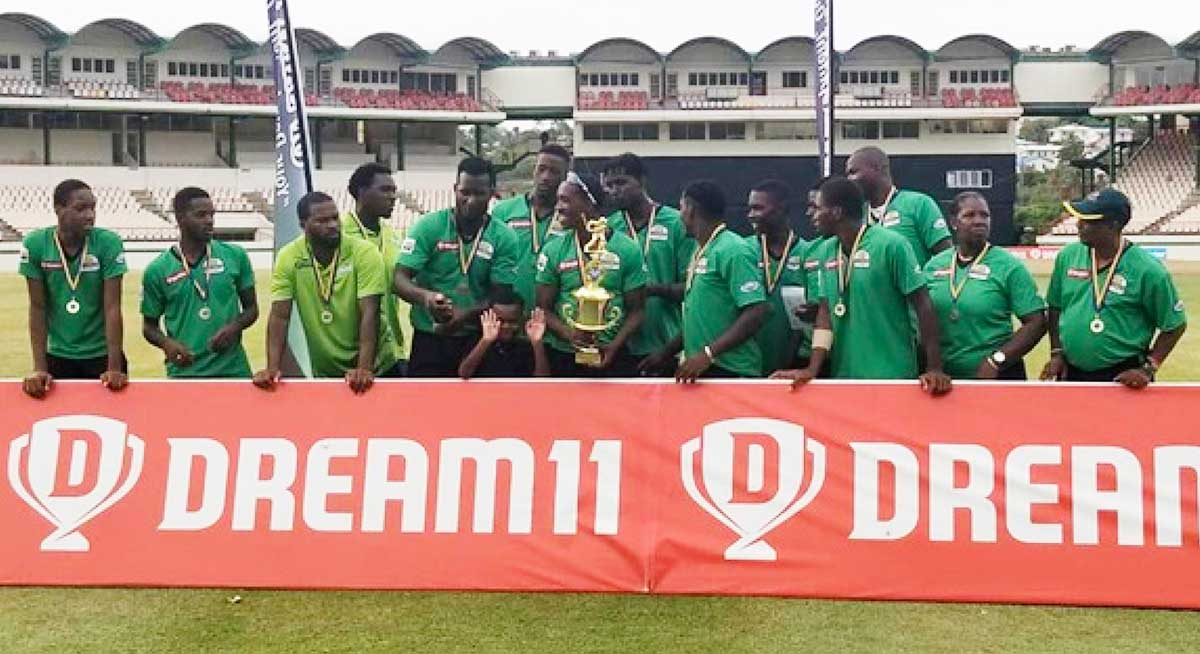 Flashback 2020!! Defending champions, South Castries Lions. (PHOTO: BC)
