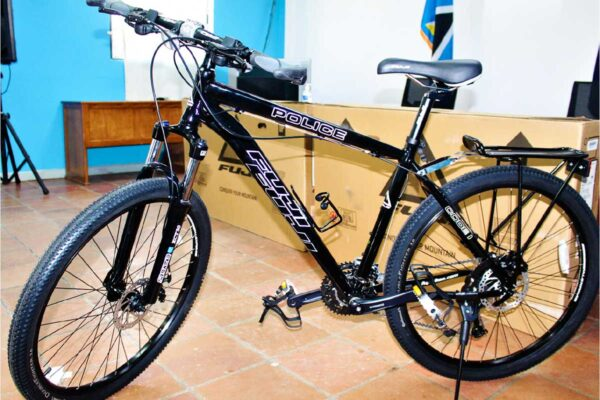 Image of one of the six bicycles donated to the RSLPS.