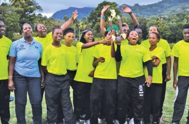 Image: Defending Champions, South Castries Lionesses. (Photo: Anthony De Beauville)