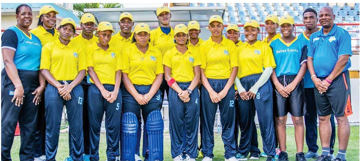 Image: Flashback 2019!! Some of the national players seen here during the Windward Islands tournament played in 2019 will represent their respective districts throughout the Acynta Auguste tournament. (Photo: Anthony De Beauville)
