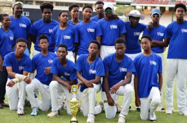 Image: Defending champions, Gros Islet. (PHOTO: Anthony De Beauville)