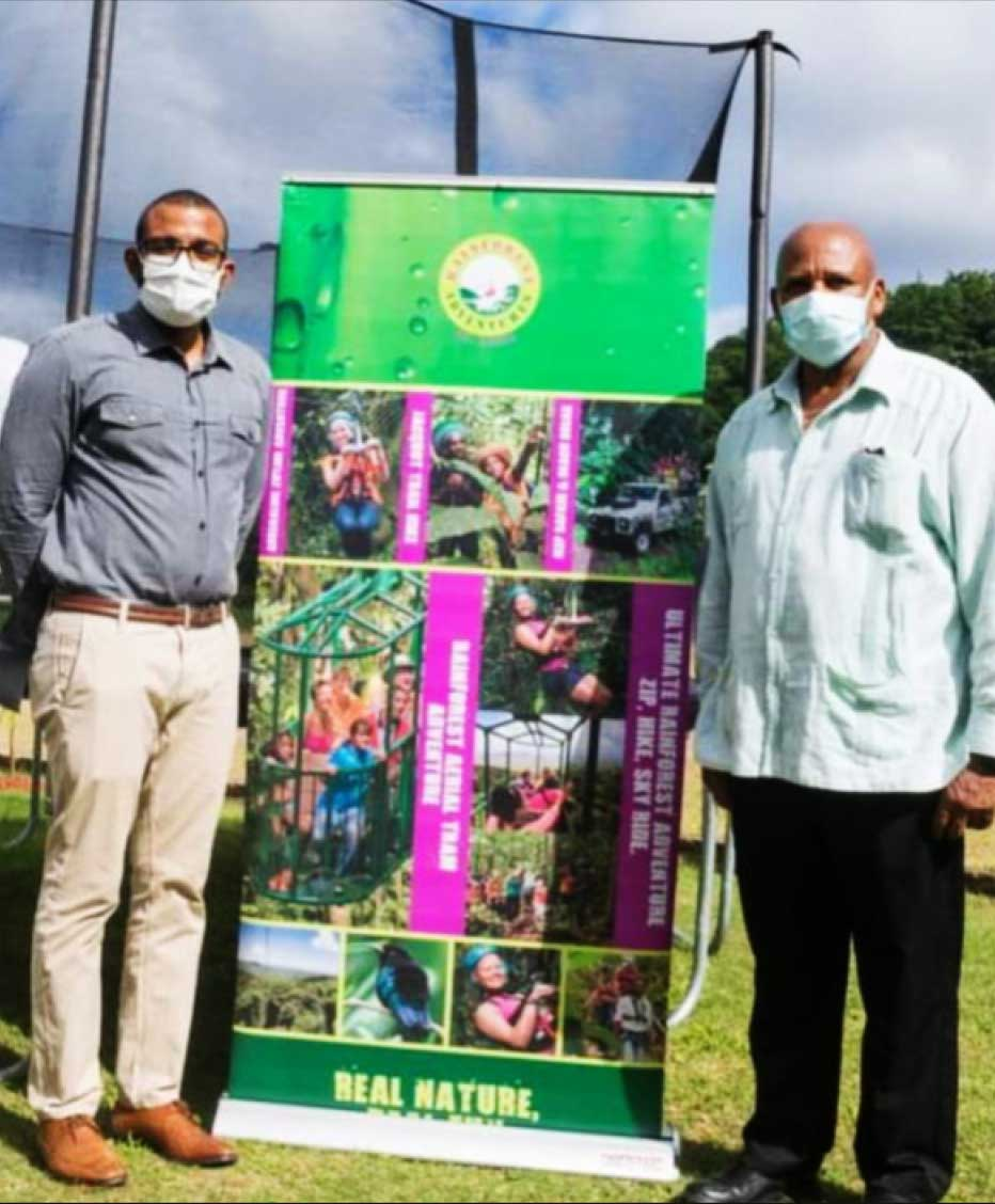 Image: Rainforest Adventures (RFA) continues in its commitment to positively impact the local community and to significantly give back to the Babonneau community, where it has been operating for over 15 years.