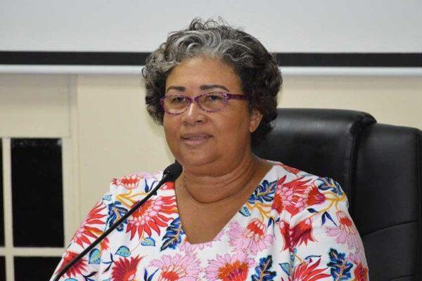 Image of CARPHA Executive Director, Dr Joy St John