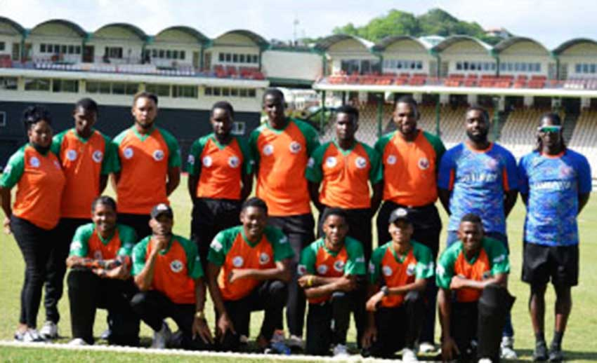 Image: The victorious Choiseul Clay Pot team on Sunday. (PHOTO: Anthony De Beauville)