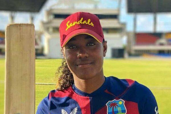 West Indies opening batter, Hayley Matthews.