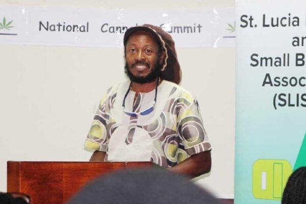 "NGP Deputy political leader, Aaron ""Ras Iron"" Alexander"