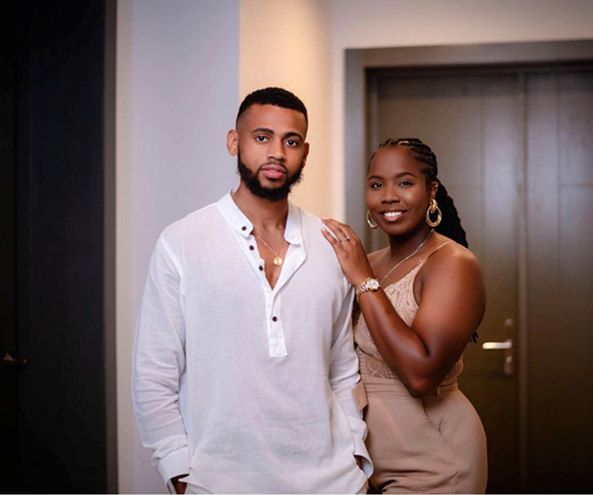 Gino Webster and Tahirah Banks, Co-Founders of Thoughtful Digital Agency.