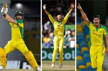 Matthew Wade guided Australia chase, Ashton Agar goes up in appeal, Mitchell Starc again made in roads (Photo: AFP/GI)