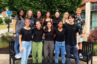 Rochester University team