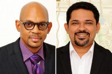 Image of SLHTA President, Paul Collymore & SLHTA CEO, Noorani Azeez