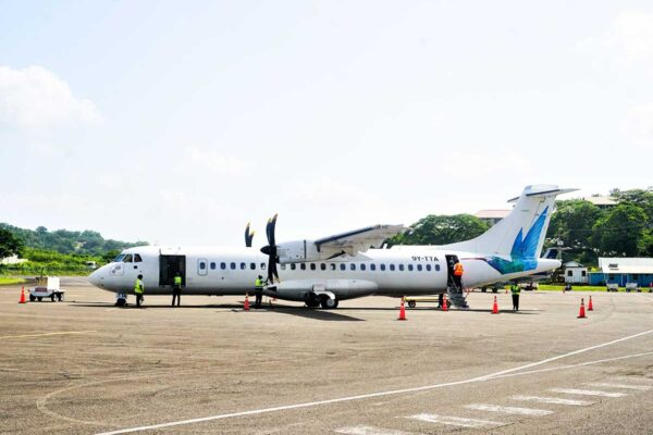 Caribbean Airlines at George F.L. Charles Airport