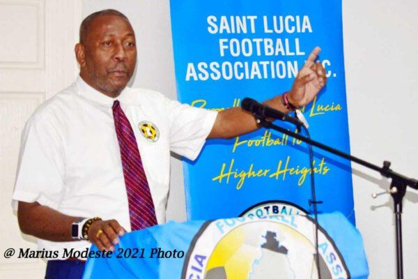 Lyndon Cooper SLFA President.