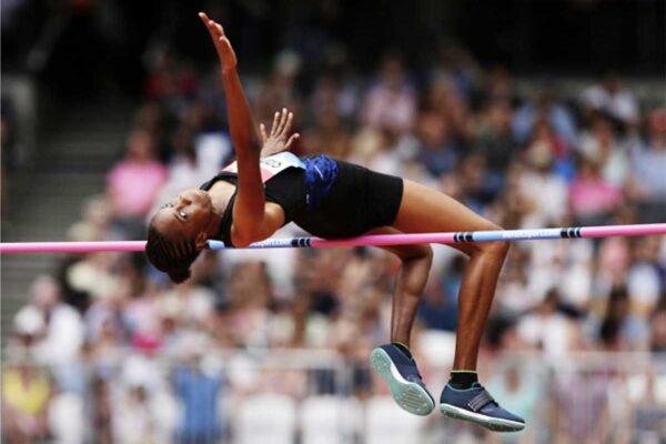 World rank high jumper, Saint Lucian Levern Spencer.