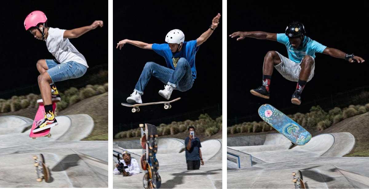 Barbados Skateboard Association a new member to BOA. (Photo: CWI Media/SBA)