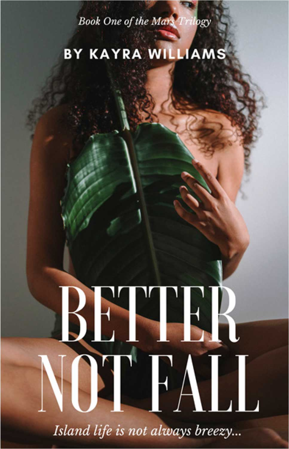 Cover of new Book 'Better Not Fall' by Kayra Williams