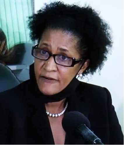Castries Mayor Geraldine Lendor - Gabriel