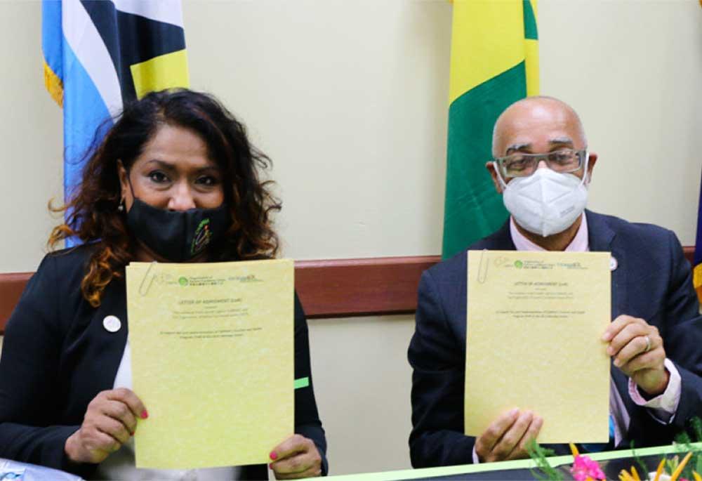 Dr. Lisa Indar & Dr. Didacus Jules