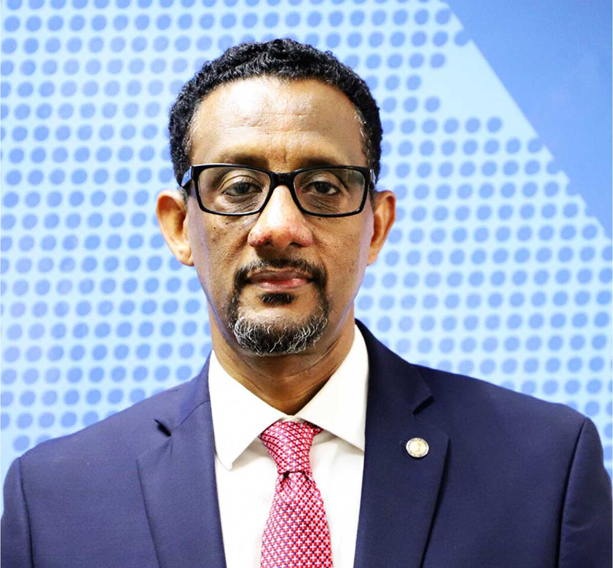 Dr.Yitades Gebre, PAHO Representative for Barbados and Eastern Caribbean