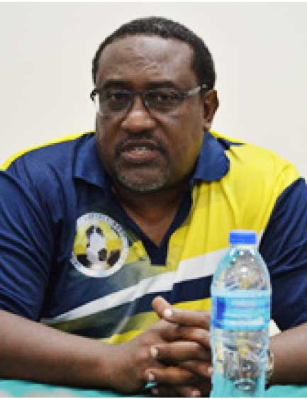 Former Saint Lucia men's senior football team head coach, Jamaal Shabazz. (Photo: Anthony De Beauville)