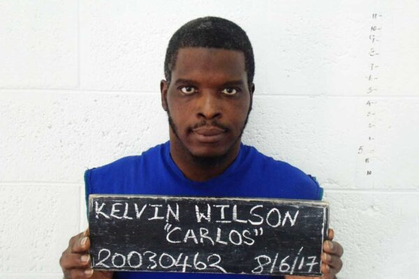 Kelvin Wilson also known as 'Carlos' or 'Goats' mugshot