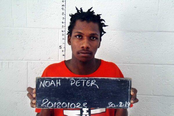 Noah Peter's mugshot