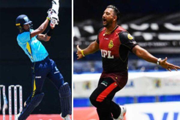 Roston Chase and fast bowler Ravi Rampaul
