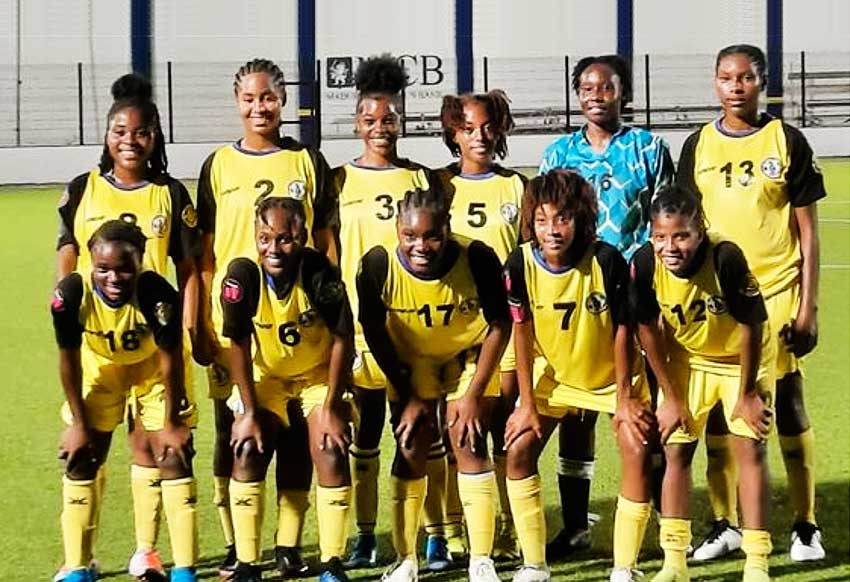 St. Lucia Women's Team.