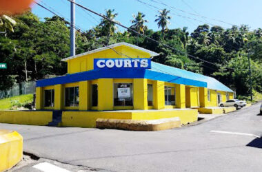 Courts' Refurbished Soufriere Branch