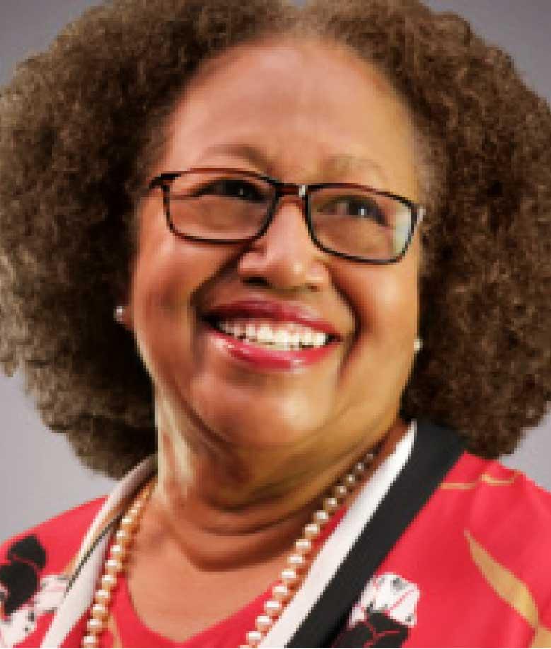 A smiling Dr. Carla Barnett
