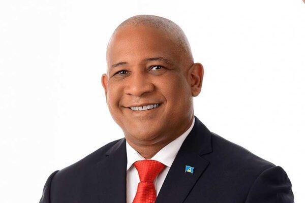 Hon. Dr. Ernest Hilaire, Minister of Tourism for Saint Lucia